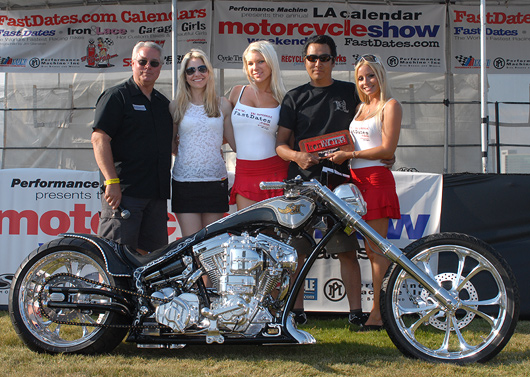 Pro Builder LA Calendar Motorcycle Show Weekend kens Factory