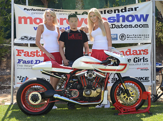 American cancer Society with Canyon Motorcycles