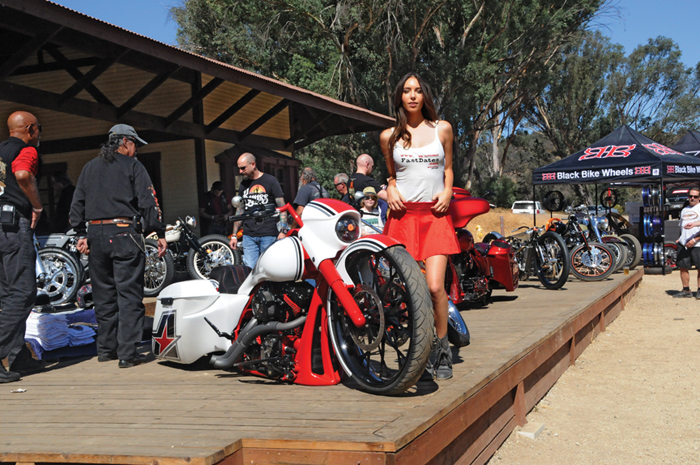 LA Calendar Motorcycle show / Rider Roundup at the ranch