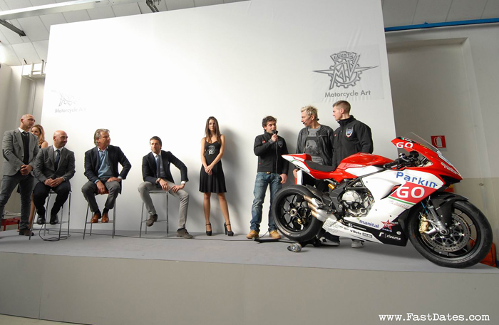 MV World Supersport 2013 Tea introduction photos