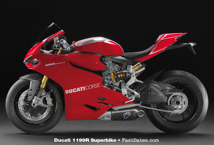 Ducati 1199R left side photo
