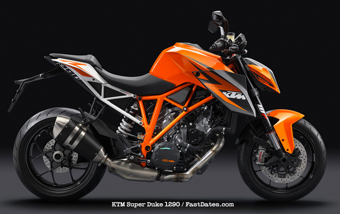 Super Duke 1290 naked KTM
