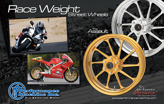 Performance machine Wheel Ad
