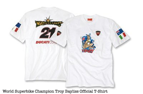 Troy Bayliss Ducati T-Shirt