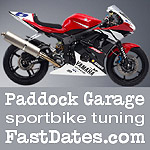 Paddock Garage Sportbike tuning performance