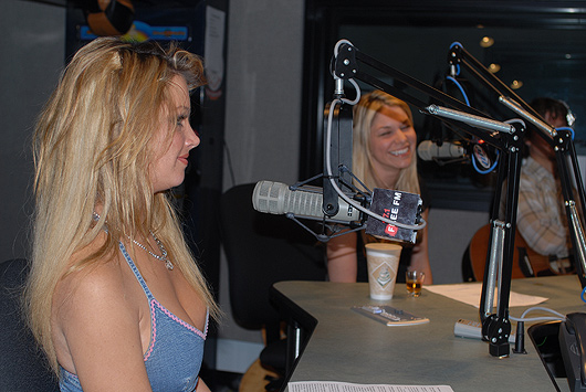 Tamara Witmer, Kari Kimmel, pop singer songwriter, LA Calendar Motorcycle Show radio interview