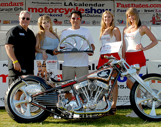 LA Calendar Motorcycle Show 2009 Best of Show Ken's Factory Japan