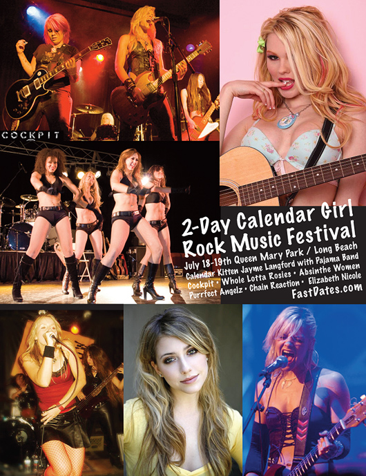 @-day Calendar Girl Music Festival