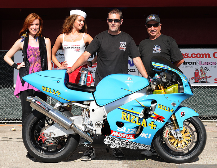 Chris Redpath MotoGP Werks Best Sportbike 1st Place