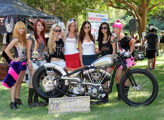 Power Plant Motorcyces Pro Buider class winner photo