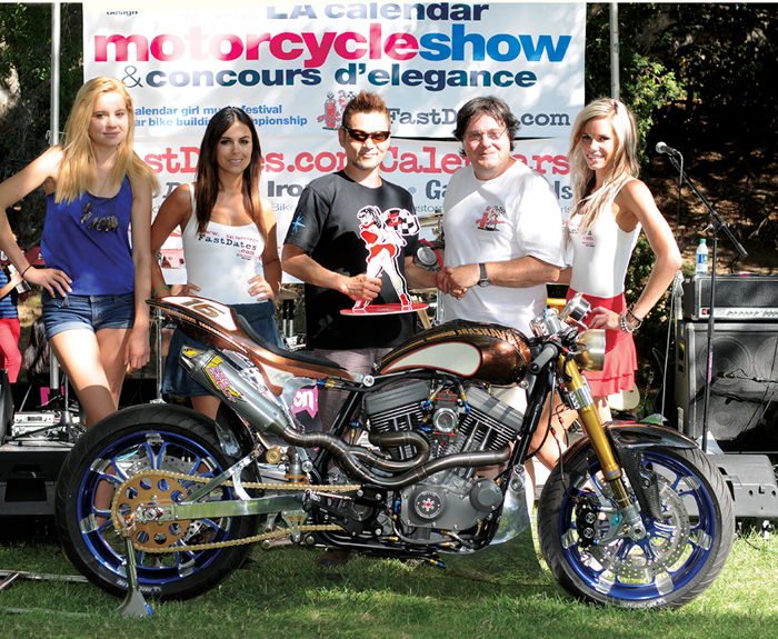 Best of Show 2012 LA Calendar Motorccyle Show photo