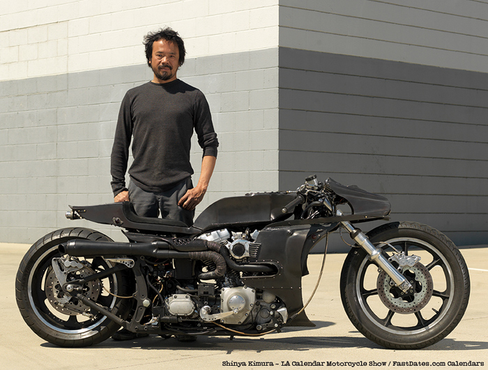 Shinya Kimura Harley Cafe racer picture photo