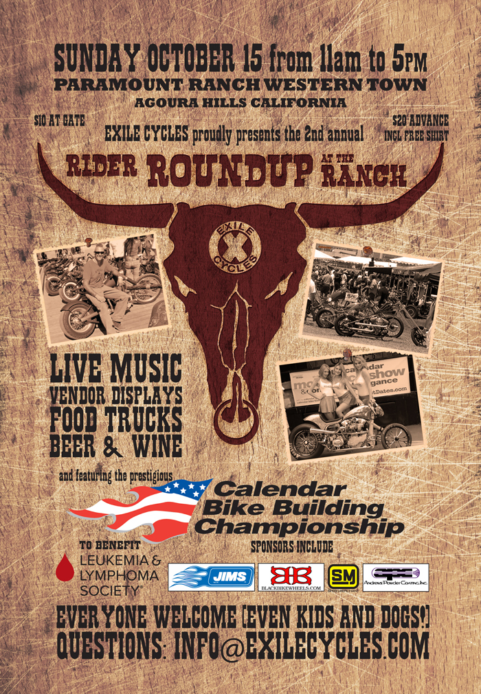 Rider Round Up 2017 paramount ranch motorcycle show