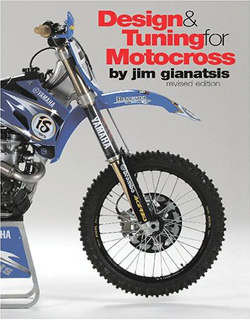 Design & Tuning for Motocross, classic and modern dirt bike performance book, hand, book, manual