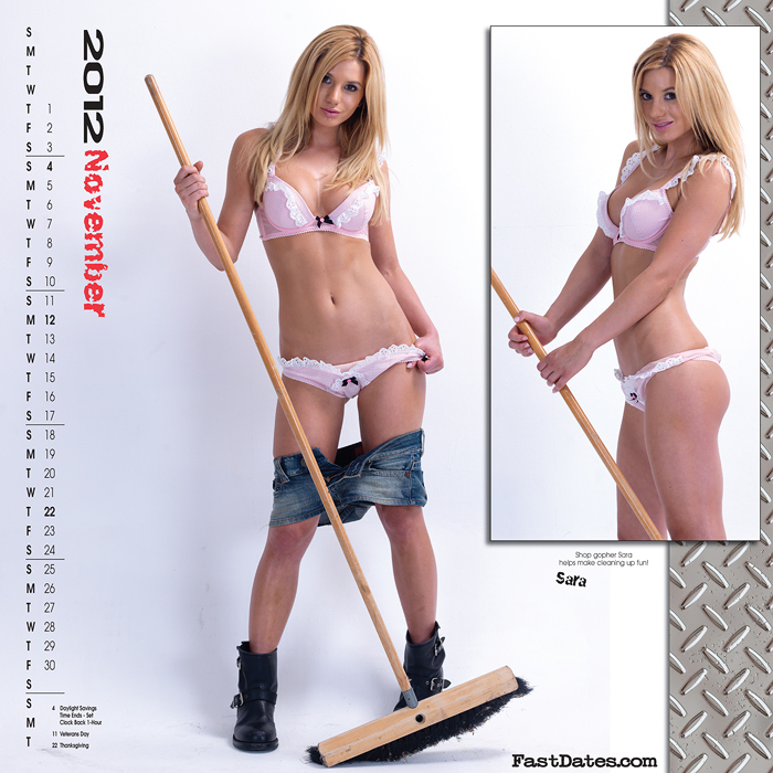 Mosh in the 2011 iron & Lace Calendar