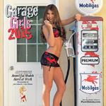 2011 Garage Girls pinup calendar
