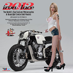Iron & Lace custom motorcycle 2012 Calendar