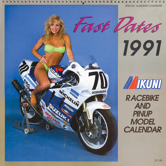 Fast Dates 1991 Calendar with Pamela Anderson