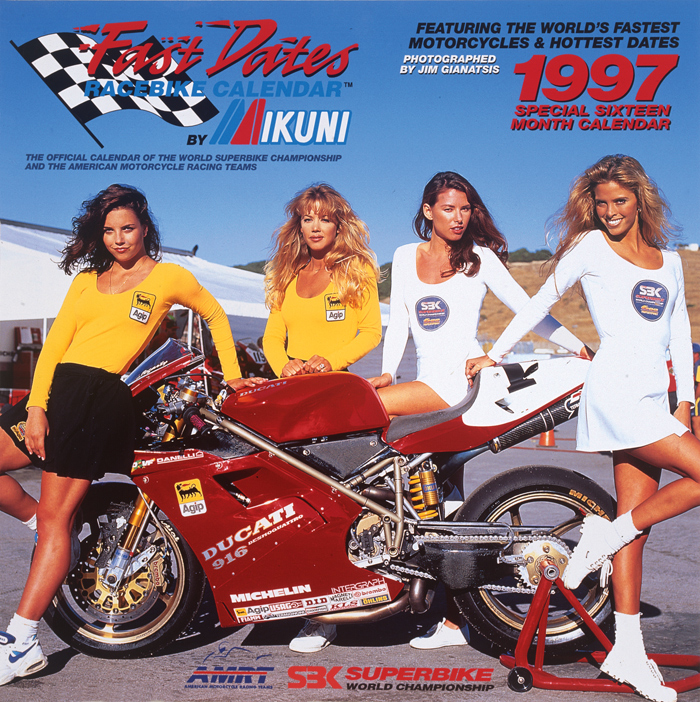 1997 Fast dates SBK World Superbike Calendar