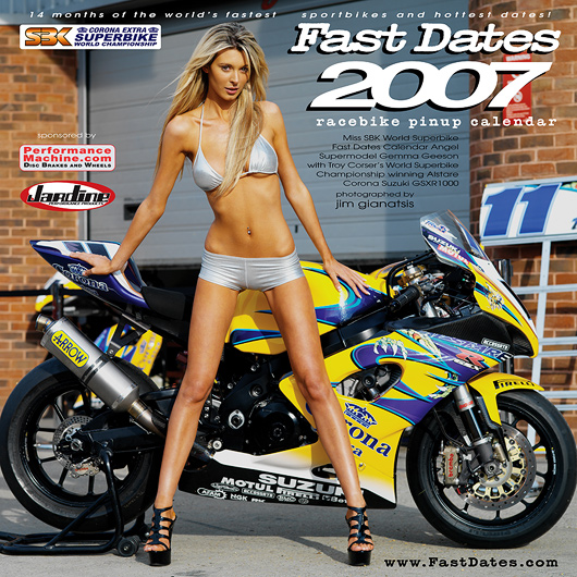 Fast Dates Racebike Pinup Calendar News • May June 2006