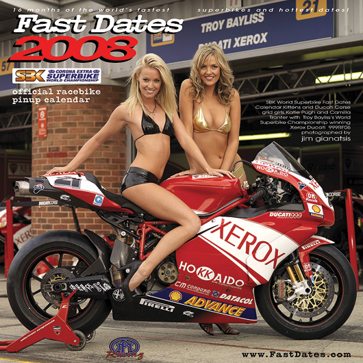 SBK Fast Dates World Superbike Pin Up Model Calendar News
