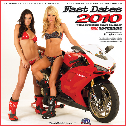 Fast Dates World Superbike Calendar 2010
