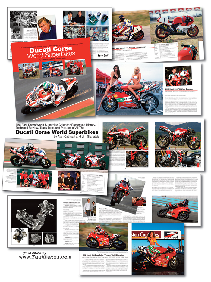 Ducati Corse World Superbikes book mail order