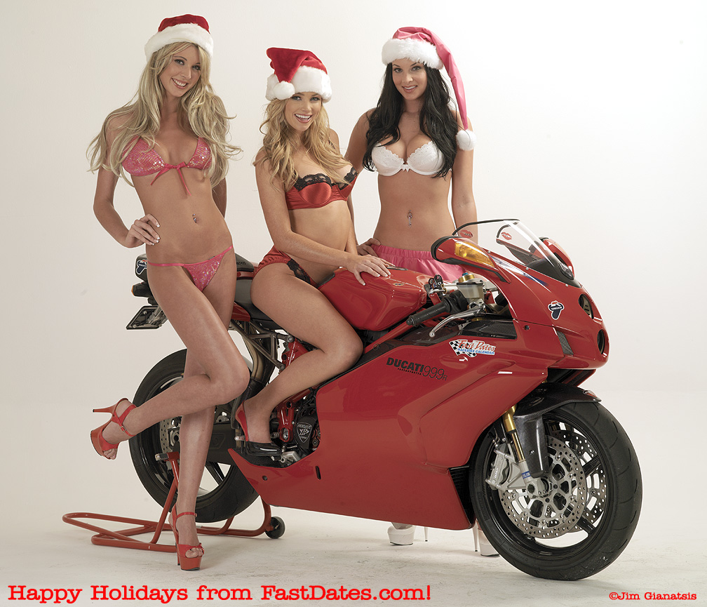 Women bike and Merry Christmas, Mulher moto e feliz natal, Mrs. Claus on a motorcycle, mamãe noel em moto, Christmas gift, Presente de Natal