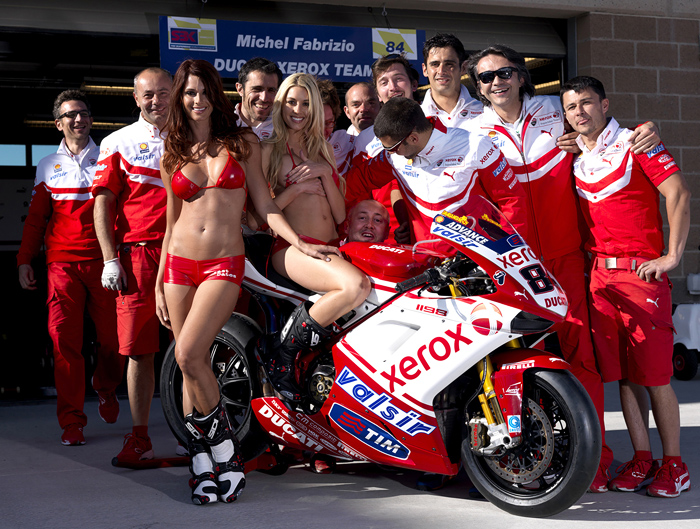 Ducati Superbike Team phoo Miller World Superbike 2010