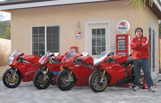 Jim Gianatsis Ducati Superbike collection