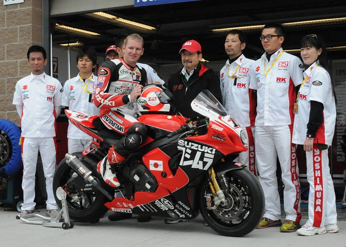 Fuji Yoshimura World Superbike team Joshua Waters