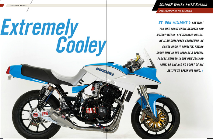MotoGPwerks Katana Wes Cooly feature