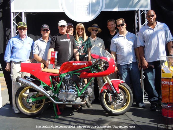Pro Italia cafe Desmo Best of Show winner 2012