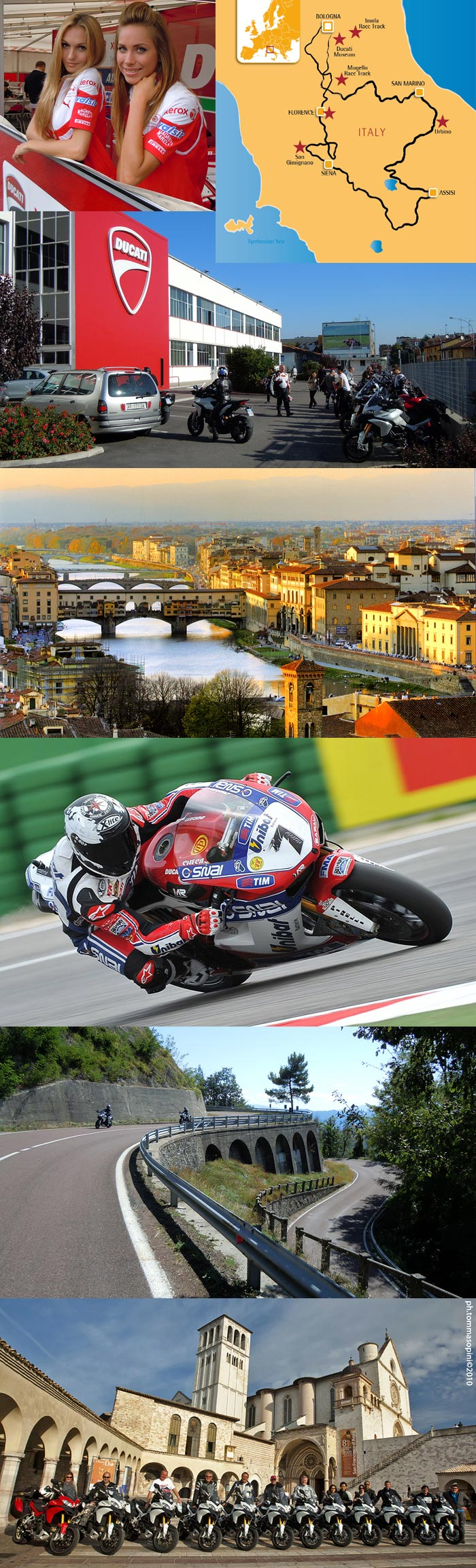 Edelweiss Ducati Italy World Superbike MotoGP Tour