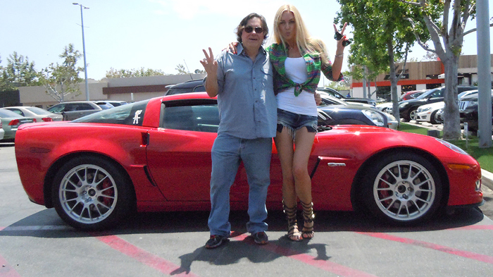Petra and Jim malibu Corvette