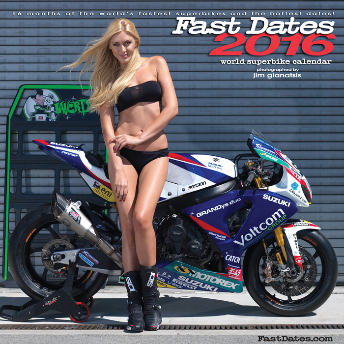 2015 Fast dates World Superbike Calendar