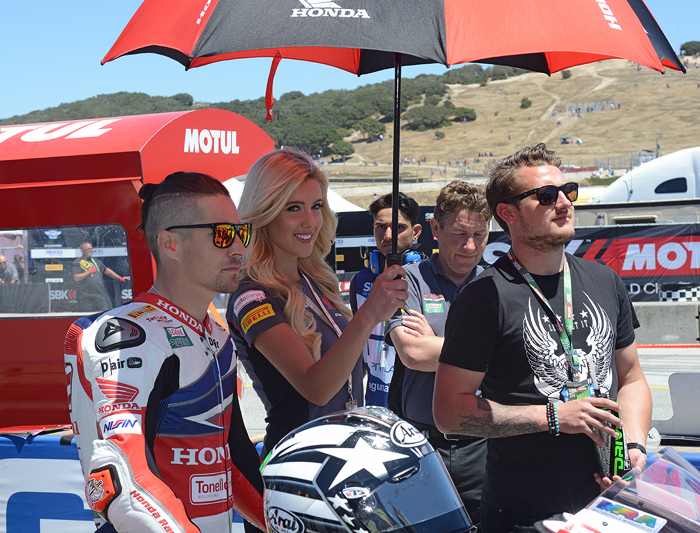 Hickey hayden photo laguna Seca grid 2016