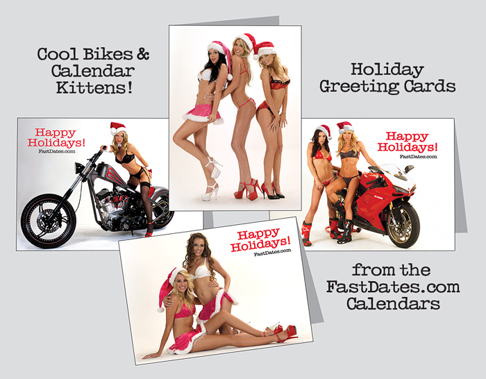 Fast Dates holiday greeting cards