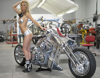 Dreamcraft Rapture Best of Show LA Calendar Motorcycle Show 2005