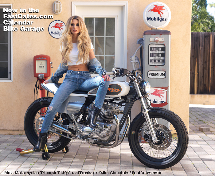 Iron & Lace Calendar & Custom Motorcycle News