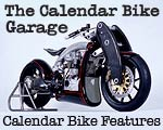 Irin and lace Calendar Garage motorcycle pictorial features