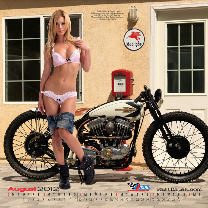2011 Iron and lace Calendar