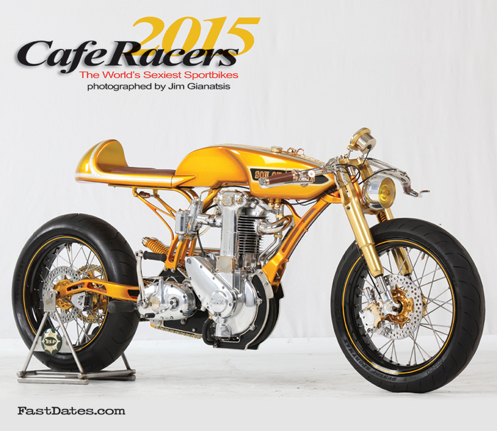 Cafe racers Calendar 2015