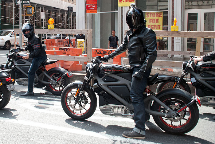 Harley-Davidson LiveWire electric motorcycle photo
