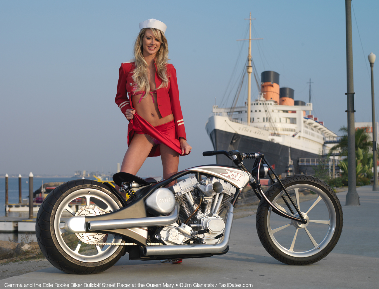 Valuable message april model motorcycle bikini have hit the