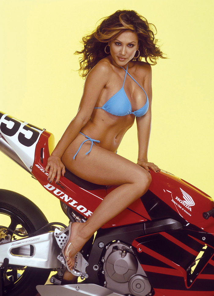Leeann Tweeden calandar shoot