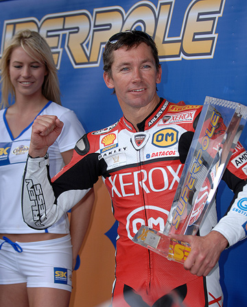 Troy Bayliss SuperPole winner