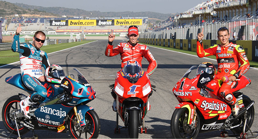 2007 MotoGP World Champions