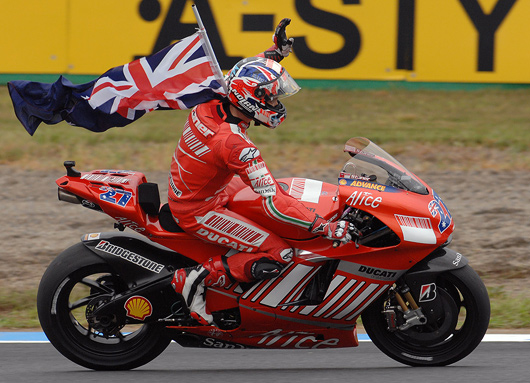 Casey Stoner 2007 World MotoGP Champion photo