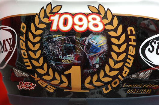 Troy Bayliss Limited Edition World Champion Suomy Helment